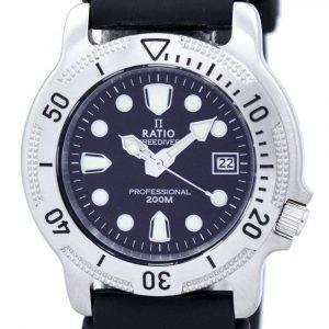 Ratio Free Diver Professional 200M Quartz 22AD202 Men's Watch