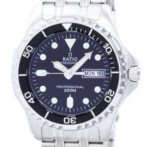 Ratio Free Diver Professional 200M Quartz 36JL140 Men's Watch