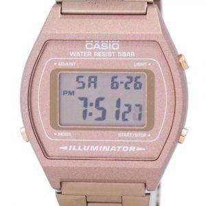 Casio Digital Quartz Stainless Steel 50M Illuminator B640WC-5ADF B640WC-5A Mens Watch