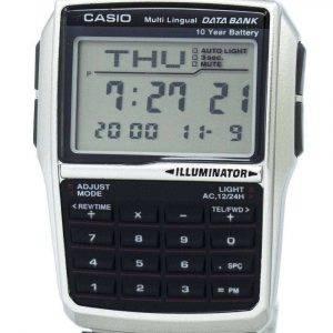 Casio Youth Digital Data Bank 5 Alarm Multi-Lingual DBC-32D-1ADF DBC-32D-1 Mens Watch