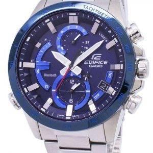 Casio Edifice Bluetooth Tough Solar Dual Time EQB-900DB-2A EQB900DB-2A Men's Watch
