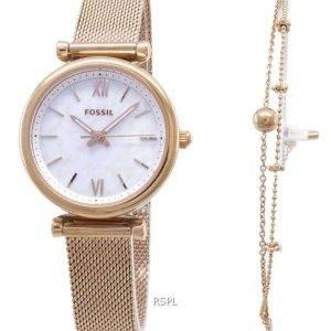 Fossil Carlie Quartz ES4443SET Women's Watch
