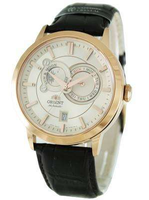 Orient Automatic ET0P001W Sun Moon Phases Mens Watch
