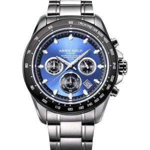 Aries Gold Inspire Drifter Chronograph Quartz G 7001 SBK-BU Men's Watch