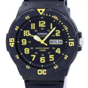 Casio Quartz Analog Black Dial MRW-200H-9BVDF MRW-200H-9BV Mens Watch