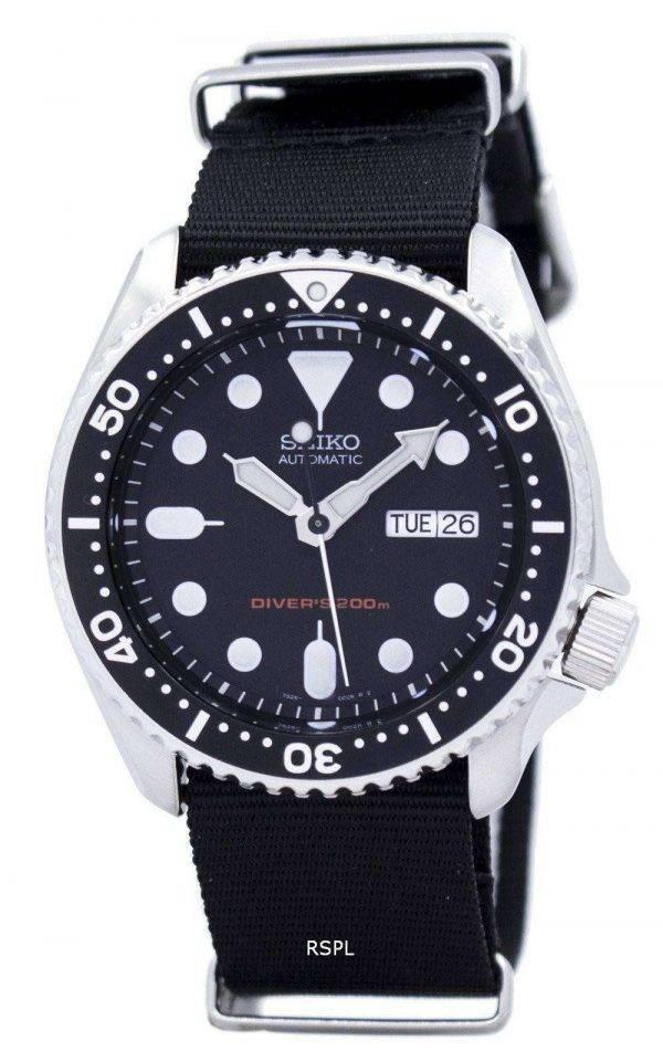 Seiko Automatic Divers 200M NATO Strap SKX007K1-NATO4 Mens Watch