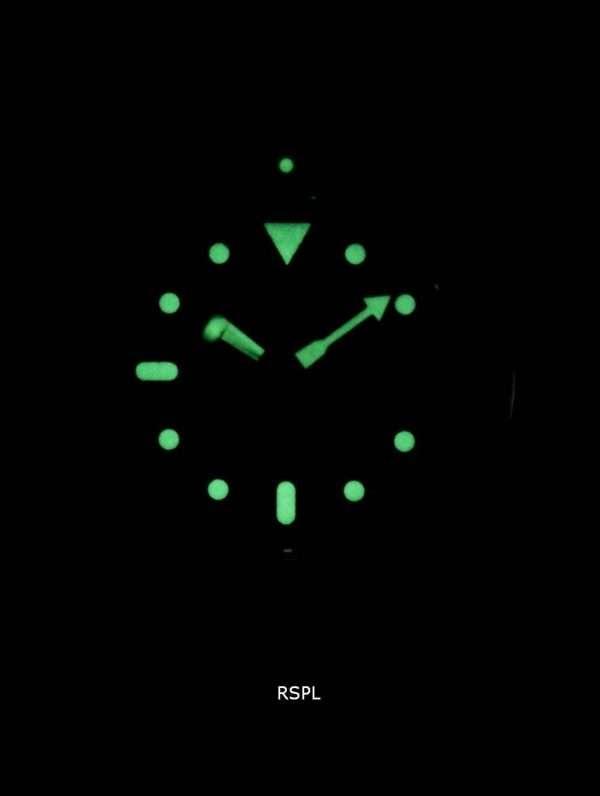Seiko Automatic Diver's Ratio Black Leather SKX009J1-LS8 200M Men's Watch