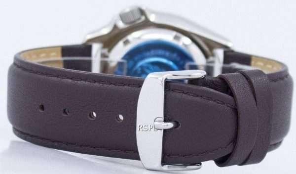 Seiko Automatic Diver's 200M Ratio Dark Brown Leather SKX009K1-LS11 Men's Watch