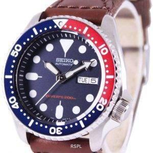 Seiko Automatic Divers Canvas Strap SKX009K1-NS1 200M Mens Watch