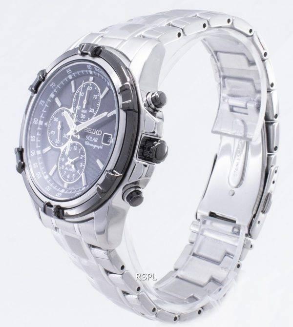 Seiko Solar Chronograph SSC147 SSC147P1 SSC147P Men's Watch