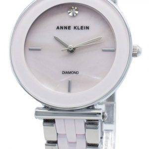Anne Klein 3159LPSV Diamond Accents Quartz Women's Watch
