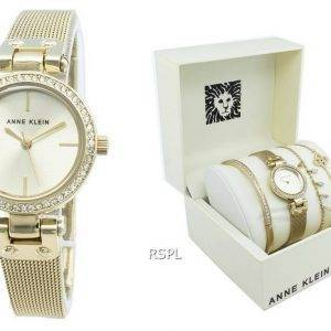 Anne Klein 3424GBST Diamond Accents Quartz Women's Watch