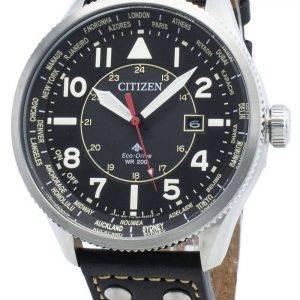 Citizen Promaster Nighthawk BX1010-02E World Time Eco-Drive 200M Men's Watch