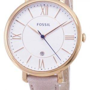 Fossil Jacqueline Quartz Blush Leather Strap ES3988 Women's Watch