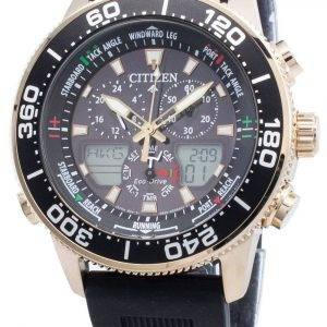 Citizen PROMASTER Marine Eco-Drive JR4063-12E Chronograph 200M Men's Watch
