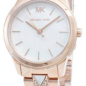 Michael Kors Runway MK6674 Diamond Accents Quartz Women's Watch