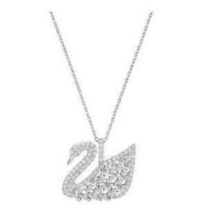 Swarovski 5169080 Swan Lake Crystal Pendant Women's Necklace