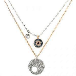 Swarovski 5272243 Crystal Wishes Evil Eye Pendant Set