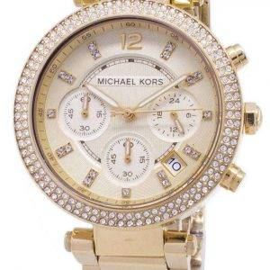 Michael Kors Parker Glitz Chronograph Crystals MK5354 Women's Watch
