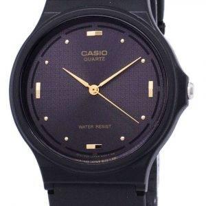 Casio Quartz Enticer Analog Black Dial MQ-76-1ALDF MQ-76-1AL Men's Watch