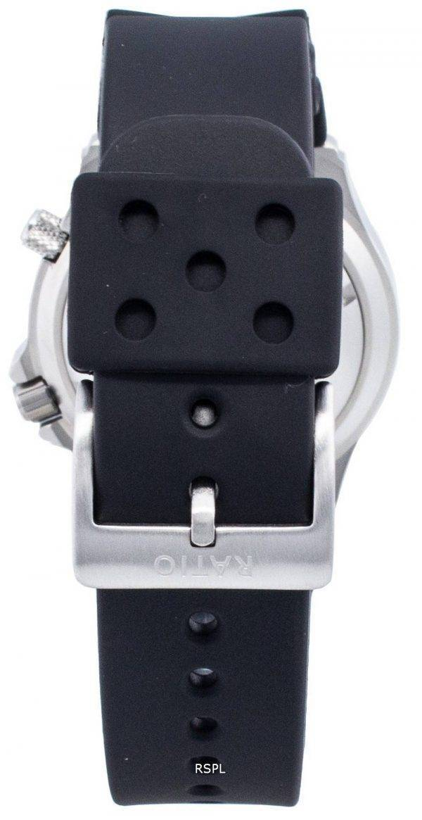 Ratio Free Diver Helium Safe 1000M Stainless Steel Automatic 1066KE20-33VA-GRN Men's Watch