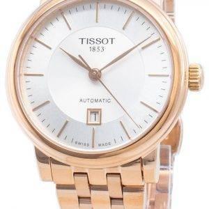 Tissot Automatic Carson Premium T122.207.33.031.00 T1222073303100 Women's Watch
