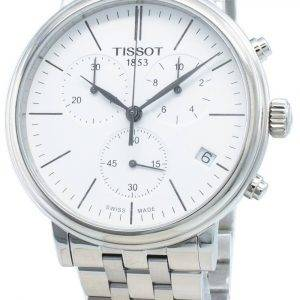 Tissot Carson Premium T122.417.11.011.00 T1224171101100 Chronograph Quartz Men's Watch