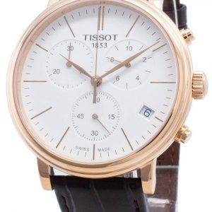 Tissot Carson Premium T122.417.36.011.00 T1224173601100 Chronograph Quartz Men's Watch