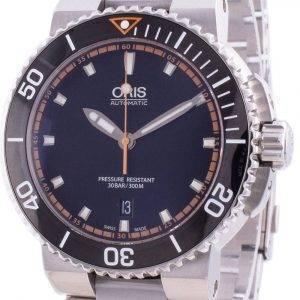 Oris Aquis Date 01-733-7653-4128-07-8-26-01PEB Automatic 300M Men's Watch