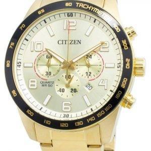 Citizen AN8163-54P Tachymeter Quartz Men's Watch