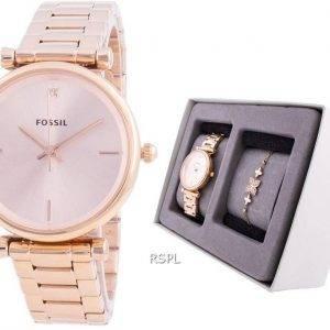 Fossil Carlie Mini ES4685SET Quartz Women's Watch