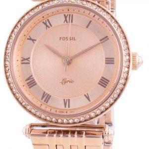 Fossil Lyric ES4711 Quartz Diamond Accents Women's Watch