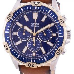 Fossil Garrett FS5625 Quartz Chronograph Men's Watch