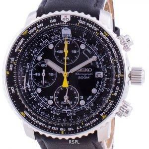 Seiko Pilot's Flight SNA411P1-VAR-LS10 Quartz Chronograph 200M Men's Watch