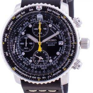 Seiko Pilot's Flight SNA411P1-VAR-LS14 Quartz Chronograph 200M Men's Watch