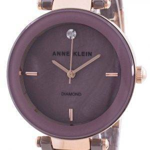 Anne Klein 1018RGMV Quartz Diamond Accents Women's Watch
