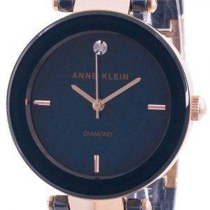 Anne Klein 1018RGNV Quartz Diamond Accents Women's Watch
