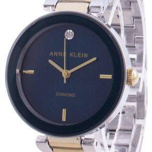 Anne Klein 1363NVTT Quartz Diamond Accents Women's Watch