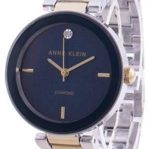 Anne Klein 1363NVTT Quartz Diamond Accents Women's Watch