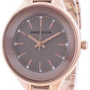 Anne Klein Swarovski Crystal Accented 1408TNRG Quartz Women's Watch