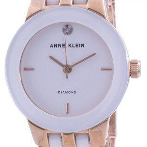 Anne Klein 1610WTRG Quartz Diamond Accents Women's Watch