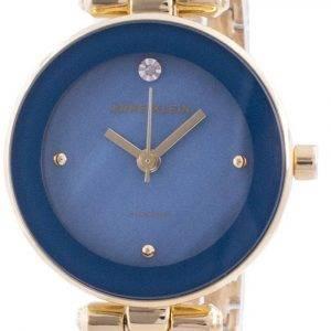 Anne Klein 1980BLGB Quartz Diamond Accents Women's Watch