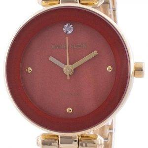 Anne Klein 1980RUGB Quartz Diamond Accents Women's Watch