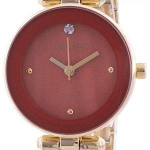 Anne Klein 1980RUGB Quartz Diamond Accents Women's Watch