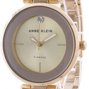 Anne Klein 2512BYGB Quartz Diamond Accents Women's Watch