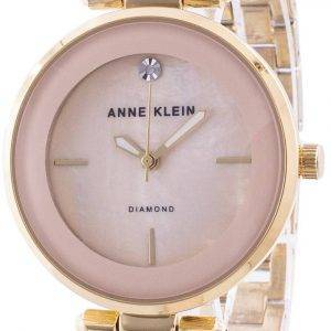 Anne Klein 2512LPGB Quartz Diamond Accents Women's Watch