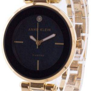 Anne Klein 2512NVGB Quartz Diamond Accents Women's Watch