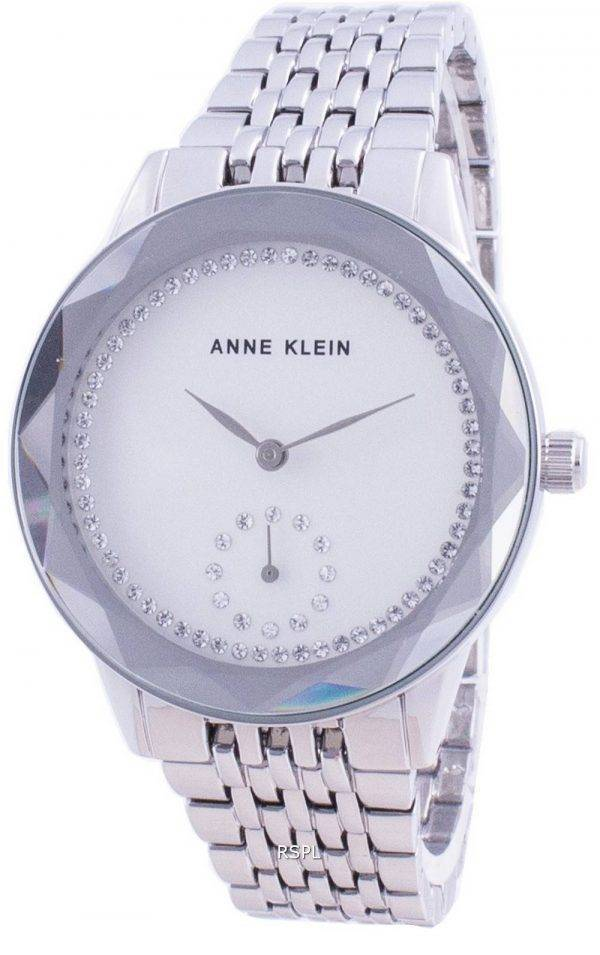 Anne Klein Swarovski Crystal Accented 3507SVSV Quartz Women's Watch
