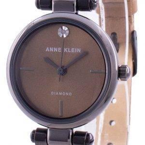 Anne Klein Genuine Diamond 3513GYMO Quartz Women's Watch
