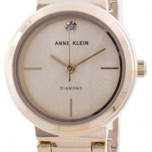 Anne Klein Genuine Diamond 3528CHGB Quartz Women's Watch
